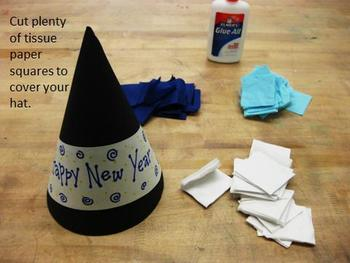 How to Make Your Own Christmas Tree or New Year's Hat