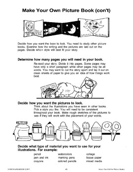 How to Make Your Own Picture Book