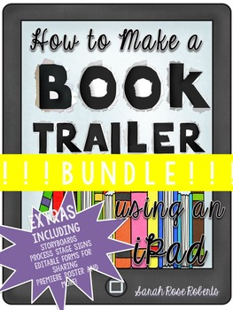 !!!How to Make a Book Trailer BUNDLE!!!