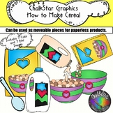 How to Make a Bowl of Cereal Clip Art- Chalkstar Graphics