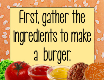 How to Make a Burger (Sequencing)