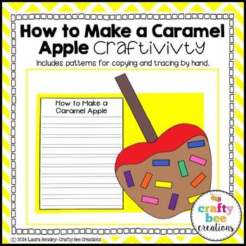 Apple Craft {How to Make a Caramel Apple}