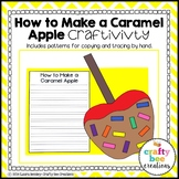 Apple Craft {How to Make a Caramel Apple}