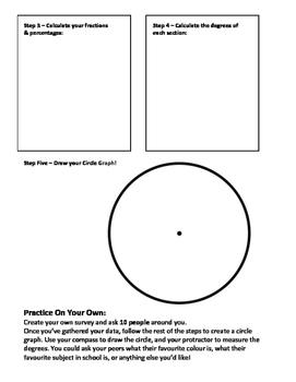 How to Make a Circle Graph