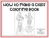 How to Make a Class Coloring Book Tutorial