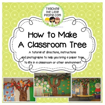 How to Make a Classroom Tree Out of Paper