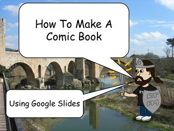 How to Make a Comic Book Using Google Slides