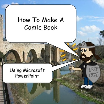 How to Make a Comic Book Using PowerPoint 2013