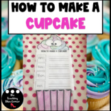 Sequence Writing Prompts | How to make a cupcake