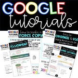 GOOGLE TUTORIALS: How to Create an Assignment, Make a Forc