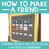 How to Make a Friend Bulletin Board