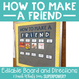 How to Make a Friend Bulletin Board