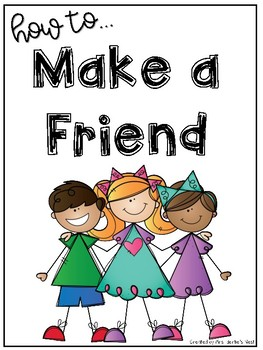 How to Make a Friend Posters and Visuals