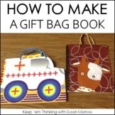 How to Make a Gift Bag Book FREE