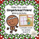 How to Make a Gingerbread Friend Writing Activity