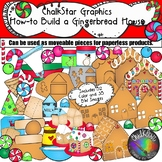 How to Make a Gingerbread House Clip Art- Chalkstar Graphics