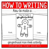 How to Make a Gingerbread Man Book