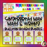 How to Make a Gingerbread Man Craftivity Craft Writing K 1 2 Bulletin Board