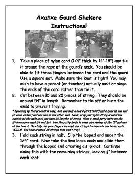 How to Make a Gourd Shekere