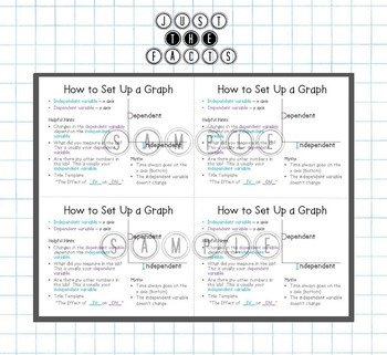 Graphing Basics- Poster & Interactive Notebook Handout