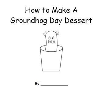 How to Make a Groundhog Day Treat Emergent Reader