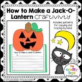 How to Make a Jack-O-Lantern Craftivity