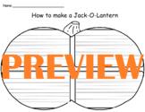 How to Make a Jack-O-Lantern Graphic Organizer