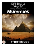 How to Make a Mummy-a writing activity