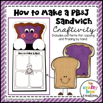 How to Make a PB&J Sandwich Craftivity