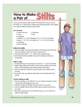 How to Make a Pair of Stilts