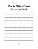 How to Make a Peanut Butter Sandwich