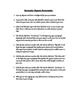 How to Make a Persuasive Keynote Presentation