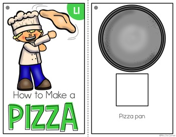 How to Make a Pizza Adapted Books ( Level 1 and Level 2 )