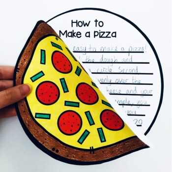 How to Make a Pizza Craftivity (Writing Prompt & Craft)