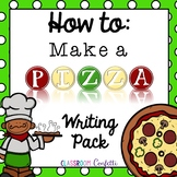 How to Make a Pizza {Informative Writing}