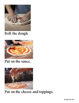 How to Make a Pizza Sequencing Activity
