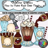 How to Make a Root Beer Float Clip Art- Chalkstar Graphics