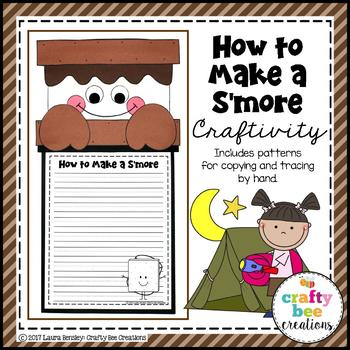 How to Make a S'more Craftivity