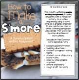 How to Make a S'more: Opinion Writing Experience