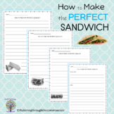 How to Make a Sandwich  Procedural Writing