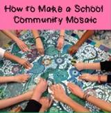 How to Make a School Community Mosaic