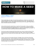 How to Make a Seed - Engaging Science Reading