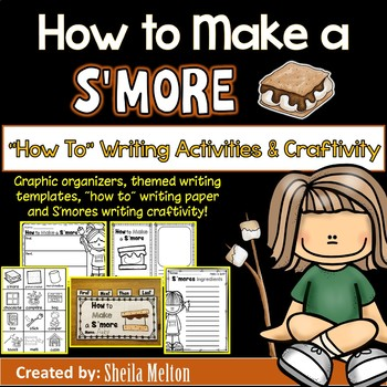 How to Make a S'more Writing - How To Writing Activities
