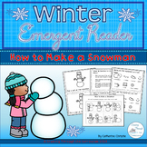 How to Make a Snowman Emergent Reader