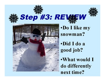 How to Make a Snowman PowerPoint