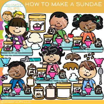 How to Make a Sundae Clip Art