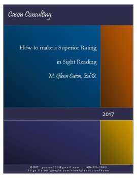 How to Make a Superior Rating in Concert Festival Sight Reading