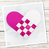 Simple Woven Heart Craft (Valentine's Day)