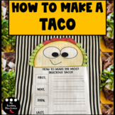 Sequence Writing Prompts | How to make a taco