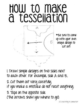 How to Make a Tessellation Handout